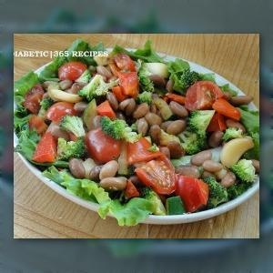 Diabetes Recipe – Pinto Bean Salad Carla or Cheryl this doesnt look half bad. =)