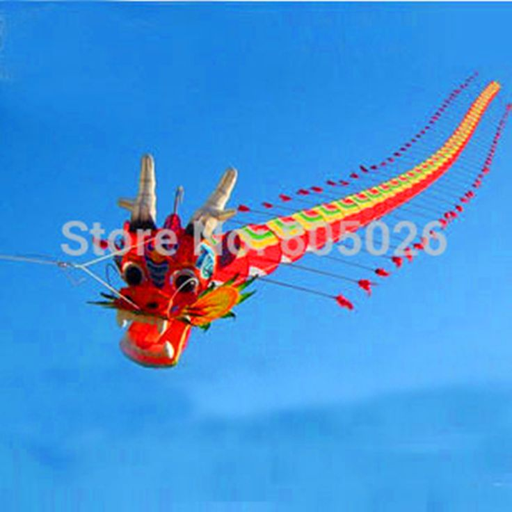 free shipping high quality 7M Chinses traditional dragon kite Chinese kite design decoration kite wei kite factory weifang toys