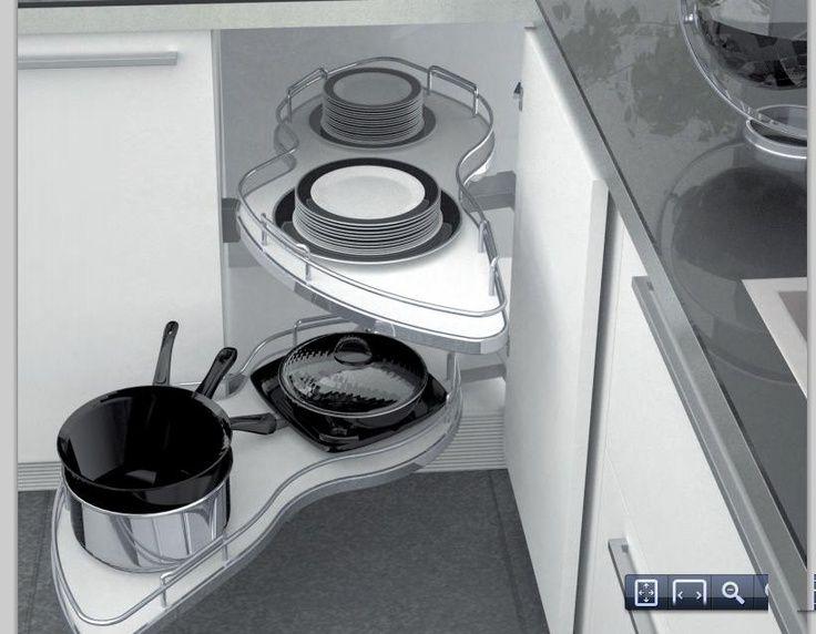 Aprovecha al máximo los rincones de tu cocina