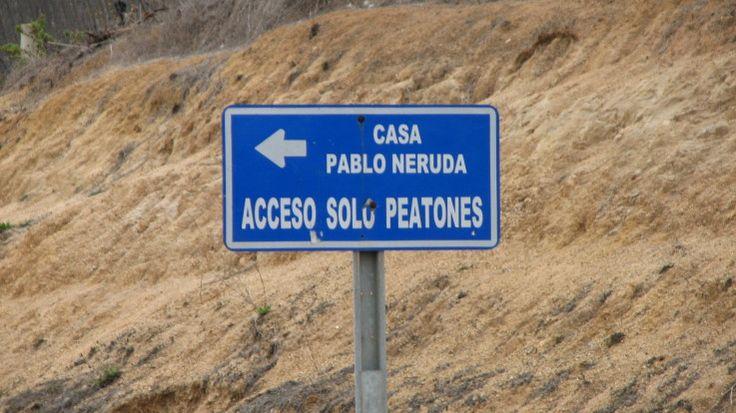 Casa de Pablo Neruda, poeta chileno,  Nobel de Literatura.