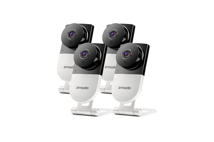 Home Surveillance Camera Wireless (4 Cameras with Night Vision and Audio): 73% Off - http://rollstroll.com/2017/04/01/home-surveillance-camera-wireless-4-cameras-with-night-vision-and-audio/ #Amazon, #Camera, #Deals, #Discounts, #Sales, #Tech, #Zmodo