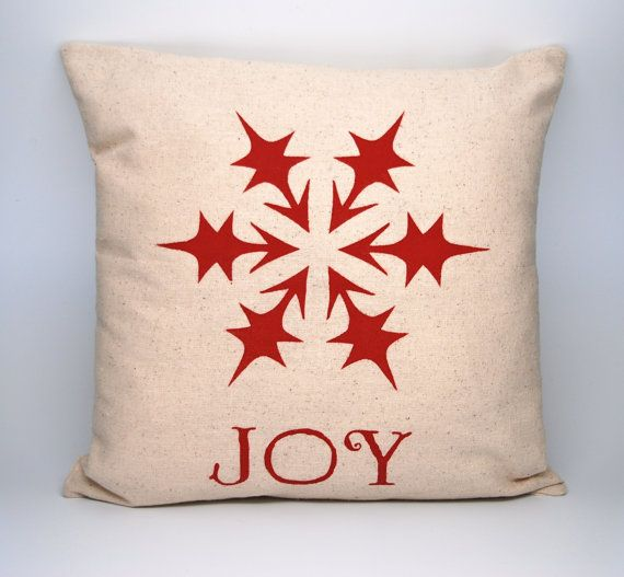 Joy Christmas Throw Pillows : 1000+ images about Christmas Throw Pillow Covers on Pinterest