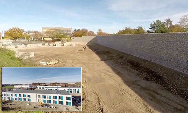 A 12ft-high 'Munich Wall' to separate locals and migrants