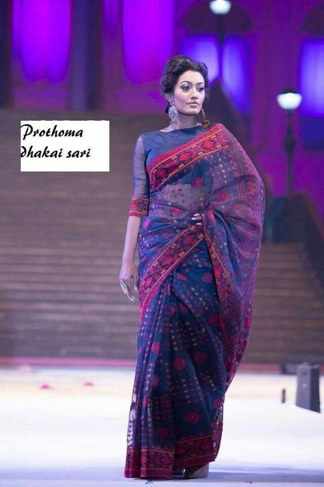 Bengali jamdani saree ❤