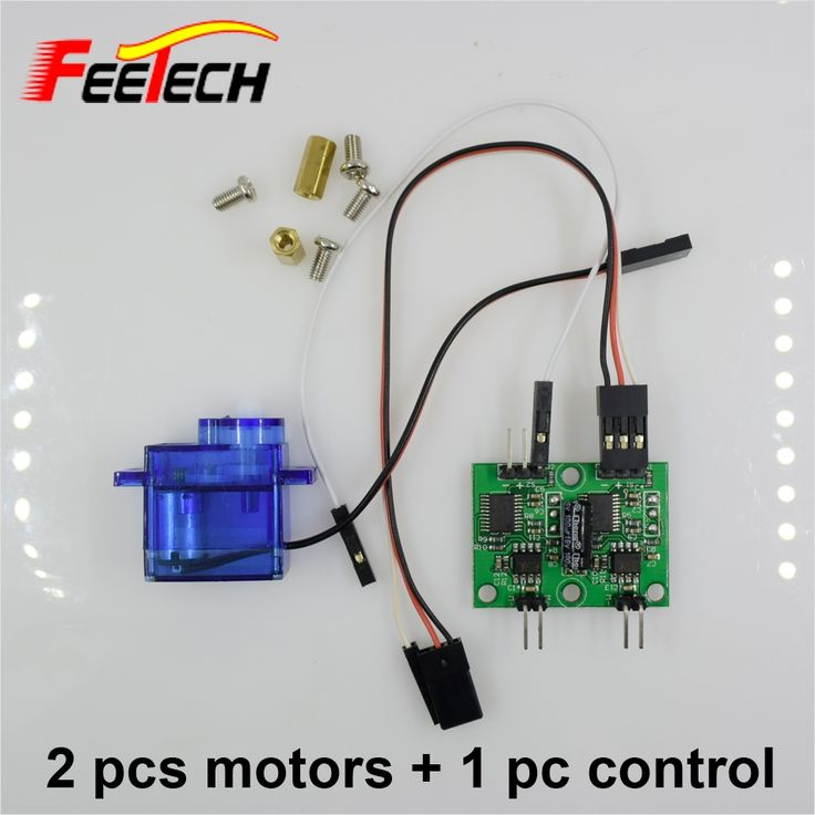 11.97$  Buy now - 2 pcs Feetech FM90 Gear Motor + 1 pc control board Micro RC Motor Gear Box For RC Car Boat Robot Drones  #aliexpress