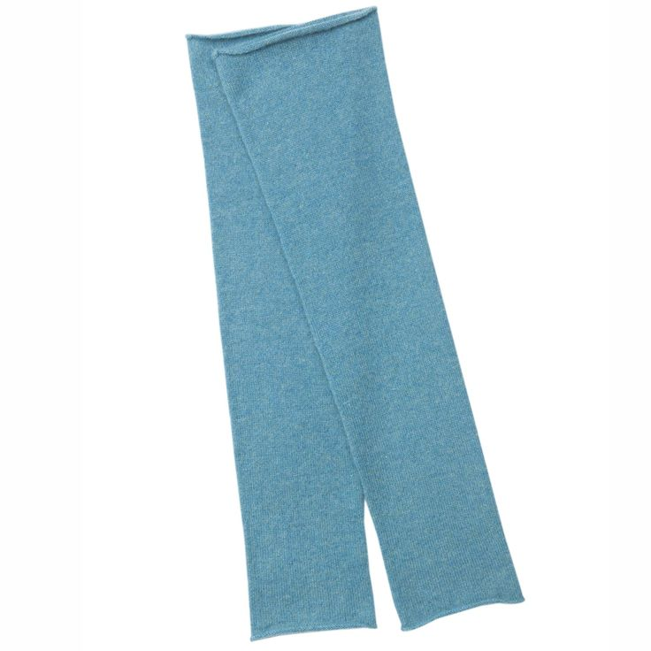 Sara Cashmere Arm Warmers in Cardiff turquoise | Arela