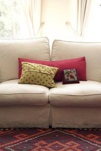 How to Fix a Sagging Couch With Attached Cushions thumbnailSofas Cushions, Rubbing Alcohol, Microfiber Couch, Cleaning Couch, How To, Howto, Couch Pillows, Baking Soda, Couch Cushions