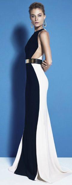 Stella McCartney color block dress. Im in love! www.kpstyleandimage.com                                                                                                                                                     More
