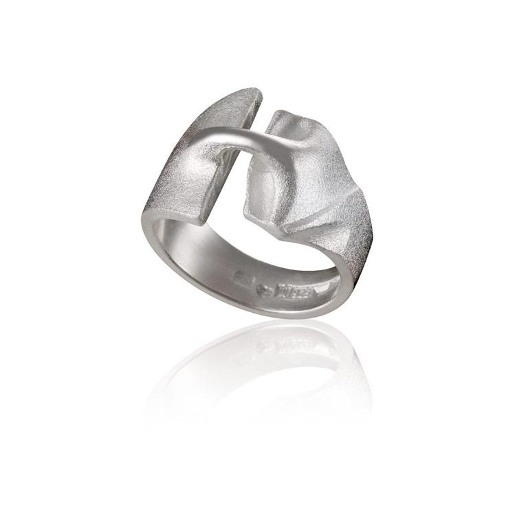 STYKS Silver Ring / Design Björn Weckström  / Handmade in Helsinki / Lapponia Jewelry