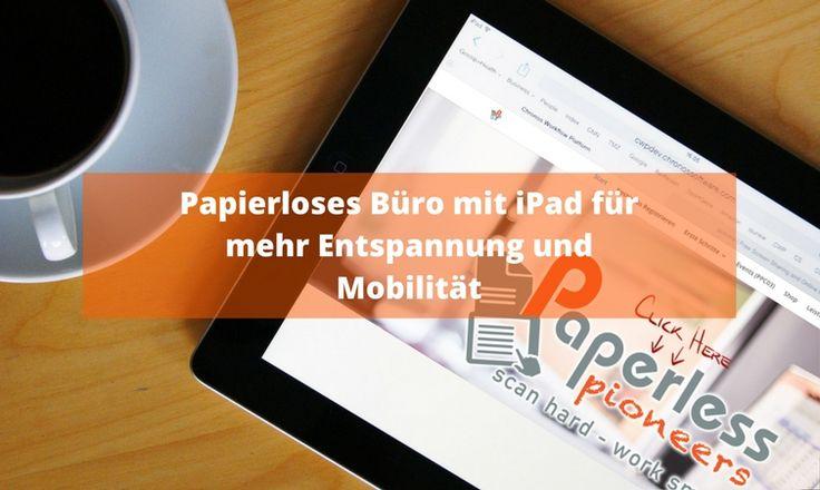 Ein papierloses Büro mit iPad umzusetzen ist aus verschiedenen Gründen eine Überlegung wert. Ob du nun mobiler werden möchtest, einfach und unkompli ...