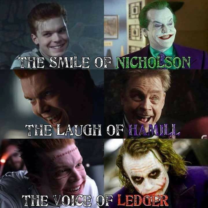 for the most, absolute, completly, amazingly perfect joker (because the others are already perfect)