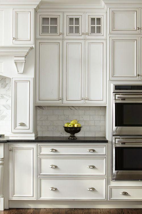 traditional white kitchen