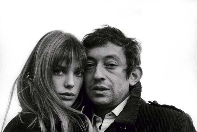 Miscelânea por Rafaela Tomasi - Os casais famosos de cada década. Na foto: Jane Birkin e Serge Gainsbourg