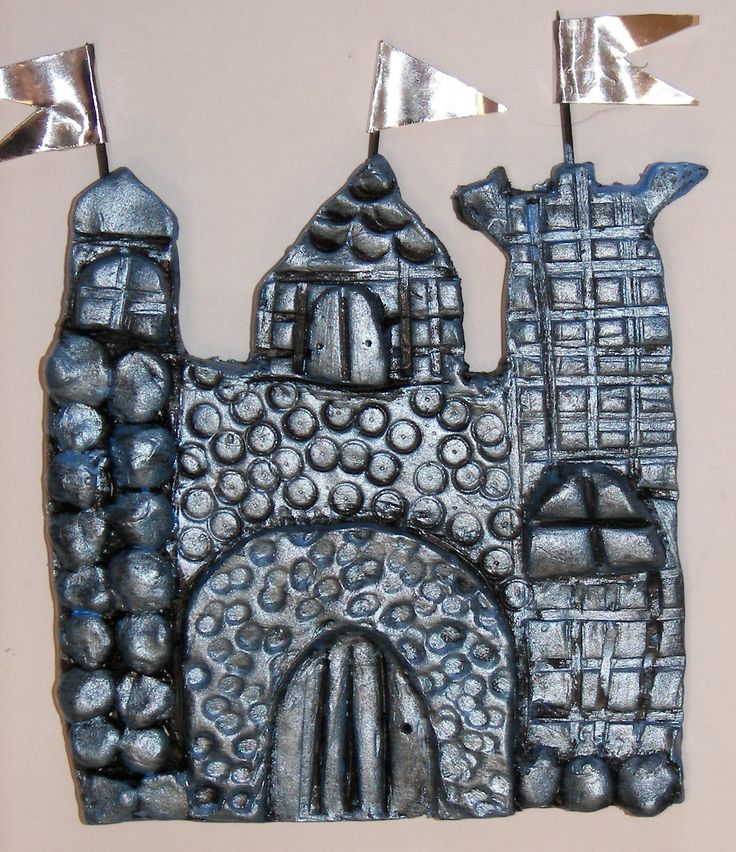Clay Castle tower art lesson - Google Search