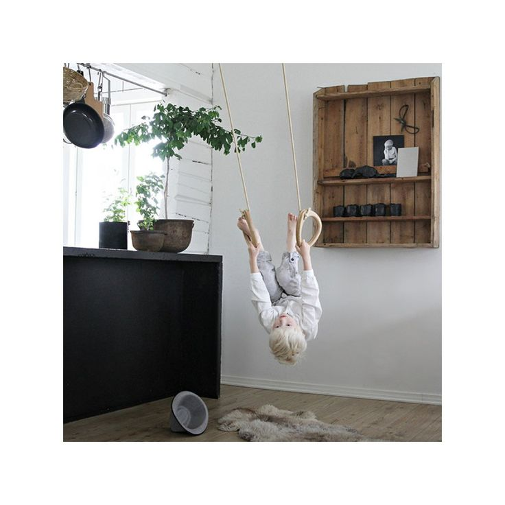 Visit Designstuff to purchase the latest designs in wood gymnastic rings by Lillagunga from Finland. Free shipping!
