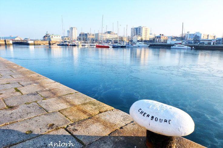 Cherbourg tout givré... ©Anne-Laure H. (@Anlorh) | Twitter #Cotentin #Normandie #CestBeauLaManche