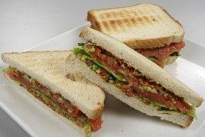 Avocado/laksesandwich 4