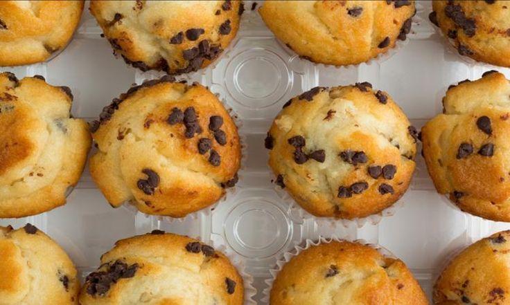 Un muffin Choco & banane SANTÉ... Sans sucre, SANS beurre et SANS huile!