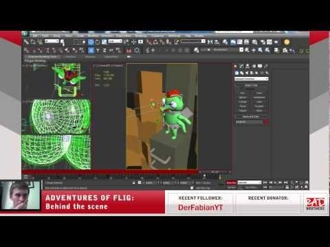#18. Flig vs Radioactive Liquid: Animations in 3ds max #twitch #indie #indiedev #gamedev #aoflig #fligadventures #adventuresofflig #flig #aftereffects