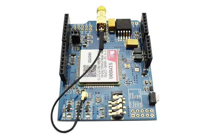 SIM808 GPRS/GSM+GPS Shield ACS80801S Shield Arduino Compatible in Elecrow bazaar!