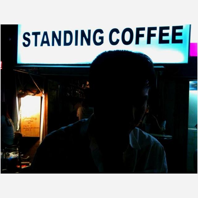 Standing Coffee
