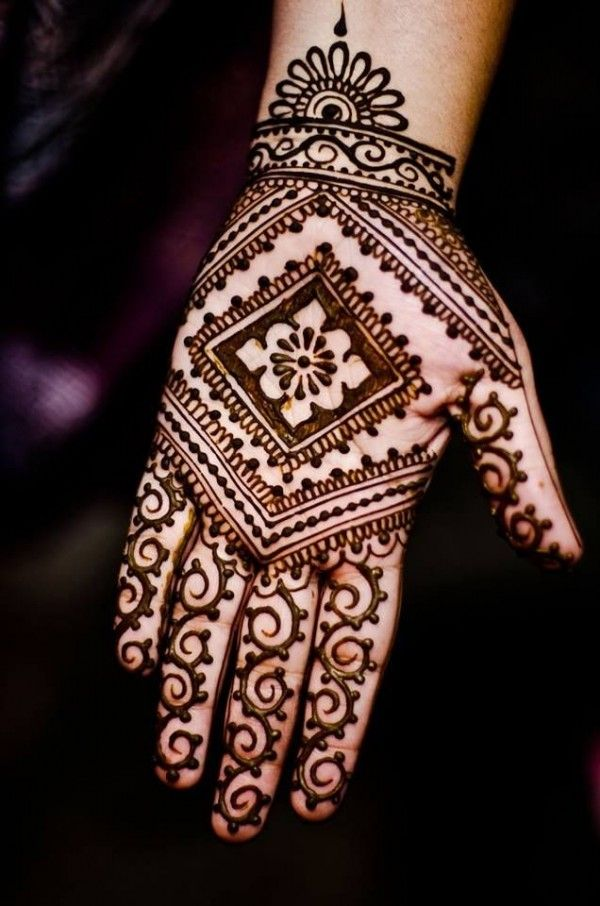 Apply Mehndi Hands : Mehndi designs for hands step by http wp me