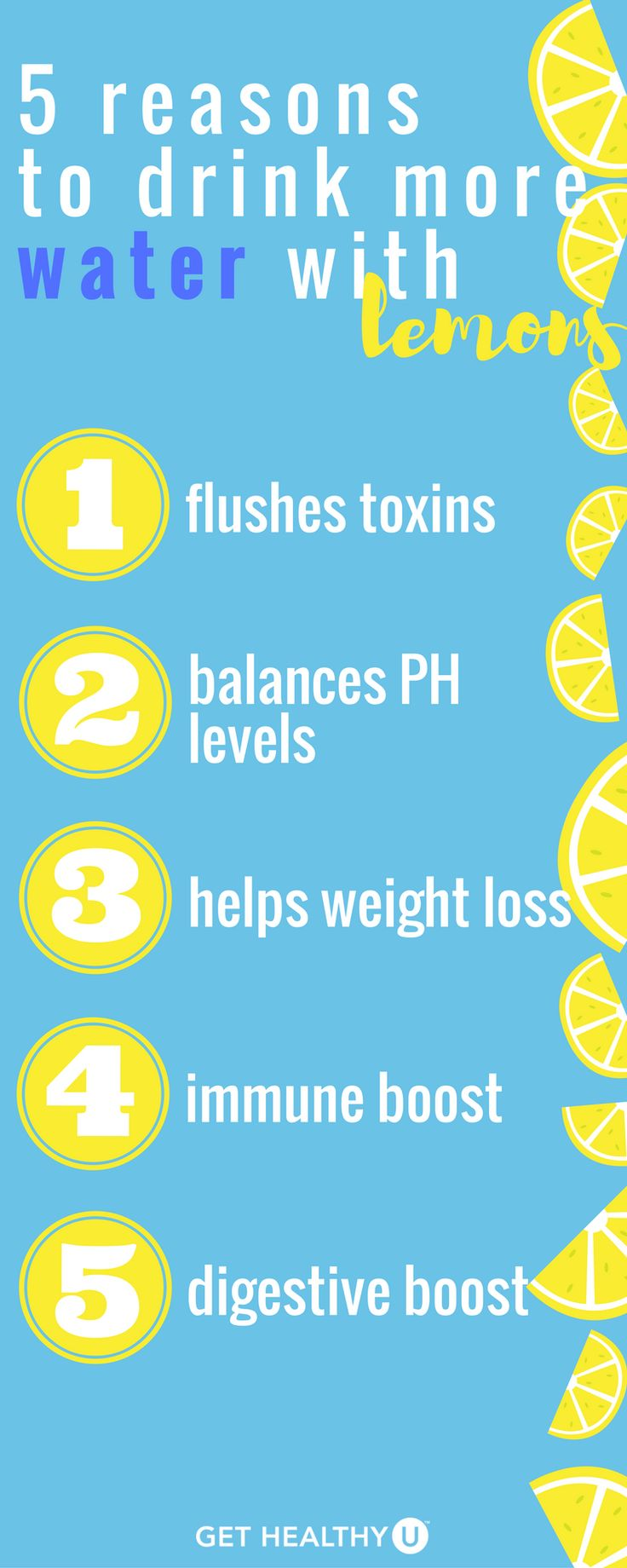 This has always been of my favorite tips to share with people who ask for an easy, start today tip, for better health. Lemons are not just a cute garnish for your glass! You should be gulping lemon water down daily, and here are 5 reasons why.