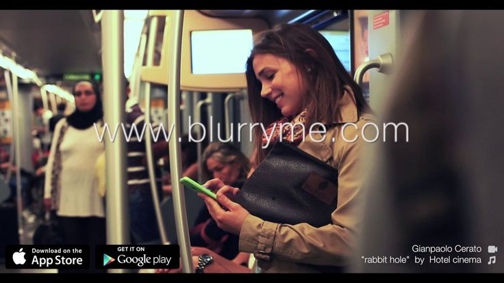 #bluryourlife with BlurryMe