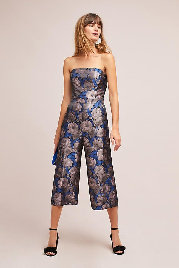 bfa0698ab36 Jacquard Strapless Jumpsuit  168 Anthropologie  jacquard Strapless Jumpsuit   168 Anthropologie.