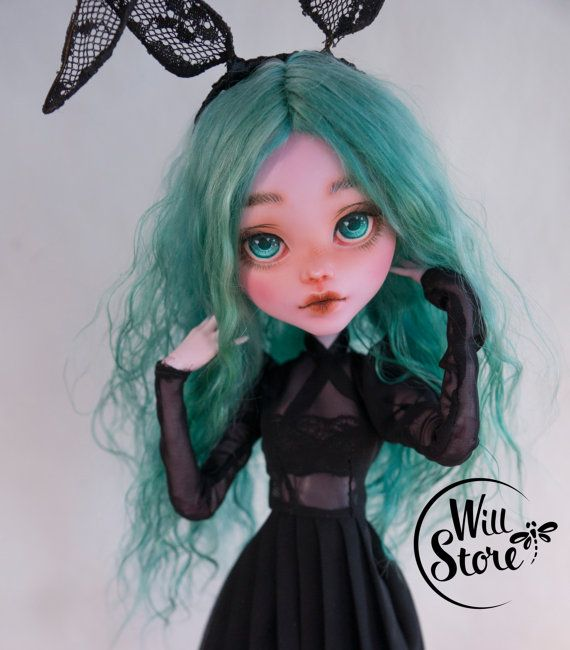 Monster High tall Draculaura 17 inch repaint ooak by WillStoreMe
