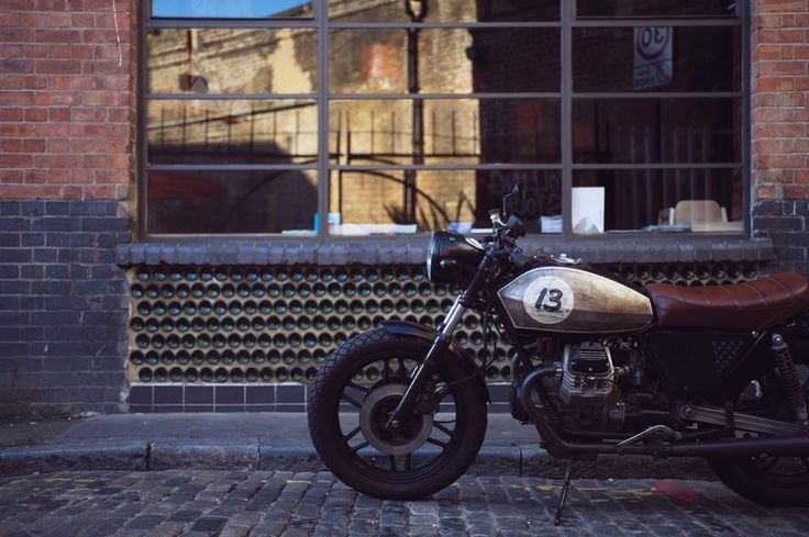 Untitled Motorcycles UMC-045 LUCKY 13 designed and built in London by Adam Kay london@untitledmotorcycles.com