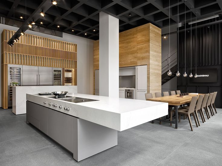 High Quality Live Cooking Zones And 20 Foot Ceilings Define Gaggenauu0027s New Merchandise  Mart Showroom. Great Ideas
