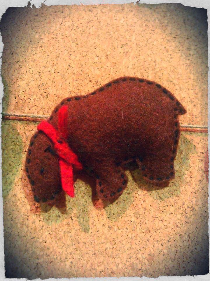 bear (handmade)