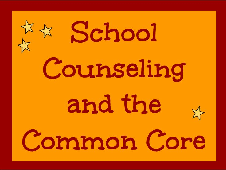 Integrating Common Core standards into your school counseling program