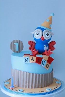 cute owl cakeFondant Owl Cake Topper Owl Cake birthday party girl boys kids kid chil children Owls Owl hibou gateau