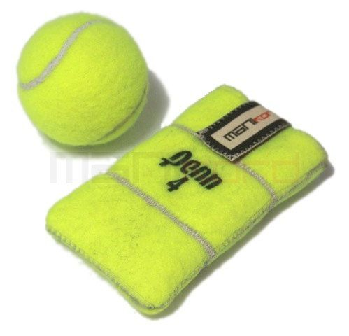 Recycled Tennis Ball iPhone/Mobile Phone Sleeve by MANIkordstudio, $30,00