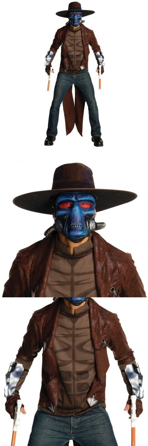 Men 52762: Cad Bane Costume Adult Star Wars Halloween Fancy Dress -> BUY IT NOW ONLY: $48.09 on eBay!