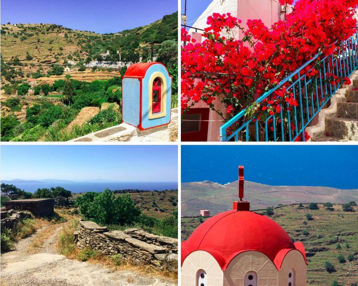 Hiking Kea island, Tzia island, Greece