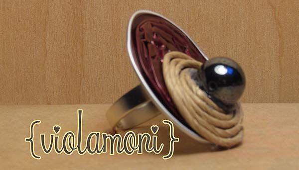 ViolaMoni Crafty: Riciclare le cialde del caffè Nespresso e simili