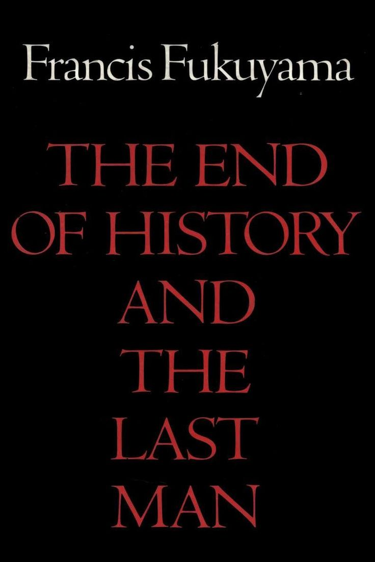 The End of History and the Last Man - Wikipedia