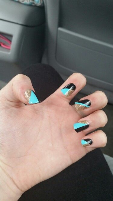 These are fake nails but they sure are heavy duty! Got them at WALMART!