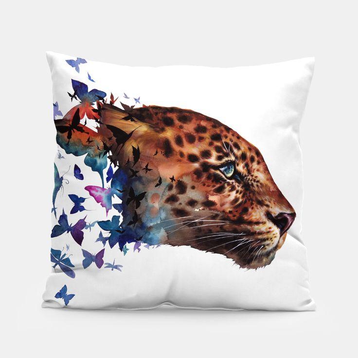 leopard Pillow by Zazac namoo 14.95€
