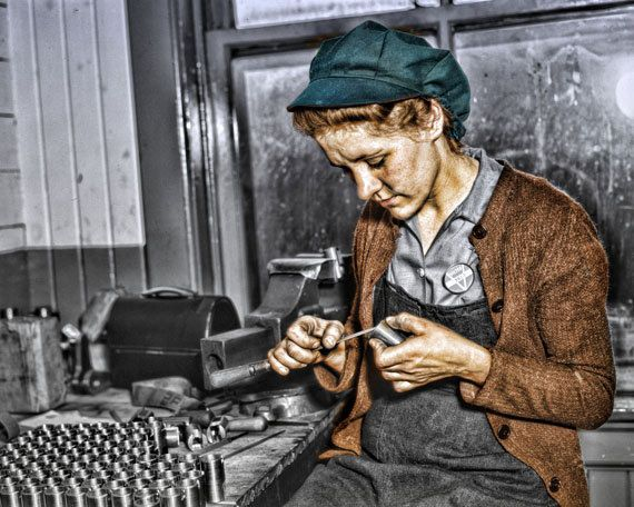 Instant Download  Gunsmith Working Woman Digital by LEXIBAGS, $5.00