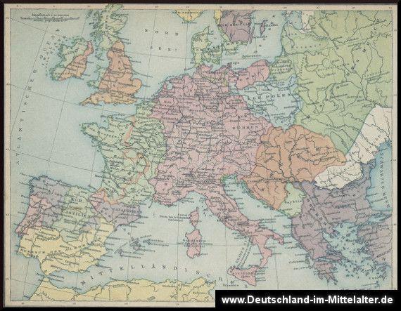 Europa zur Stauferzeit
