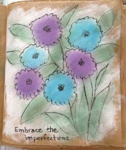 Friday Fabric: From an Art Journal Page to a FQ! Blog post by Dale Anne Potter.