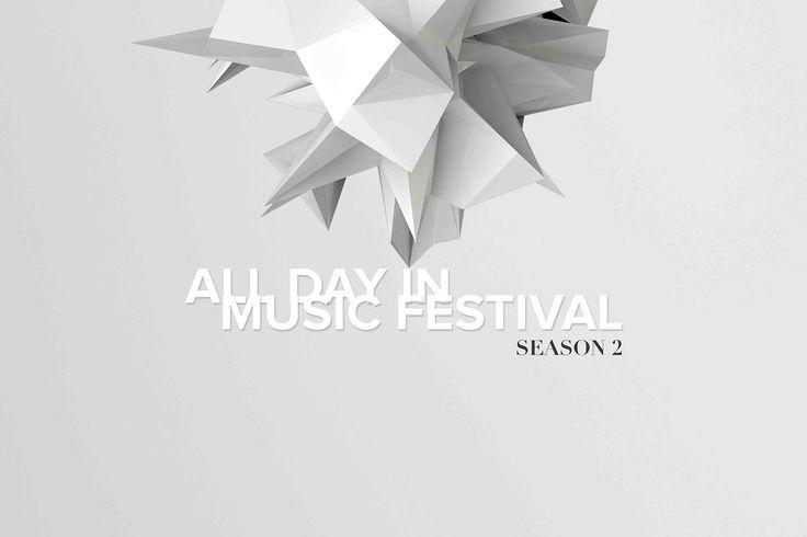 Branding AlldayinMusic festival on Behance