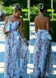 Resultado de imagen para vestido largo floreado