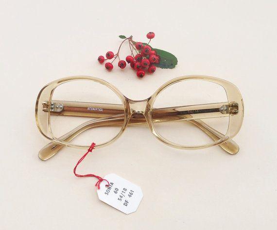 Vintage 60s ice frames / pastel lucite glasses / italian eyeglasses / transparent sunglasses / deadstock optical eyewear by Skomoroki