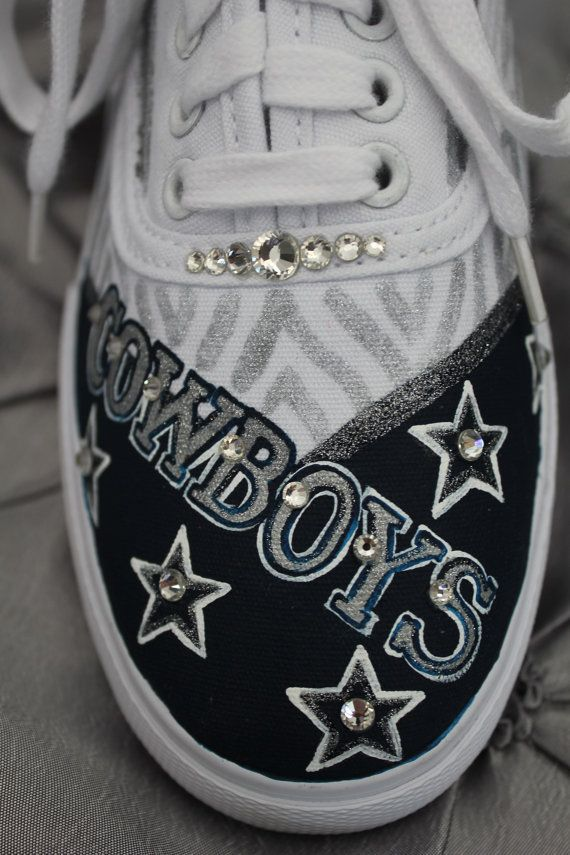 Dallas Cowboys Keds Dallas Cowboys Shoes Dallas by Touchofjoyshoes