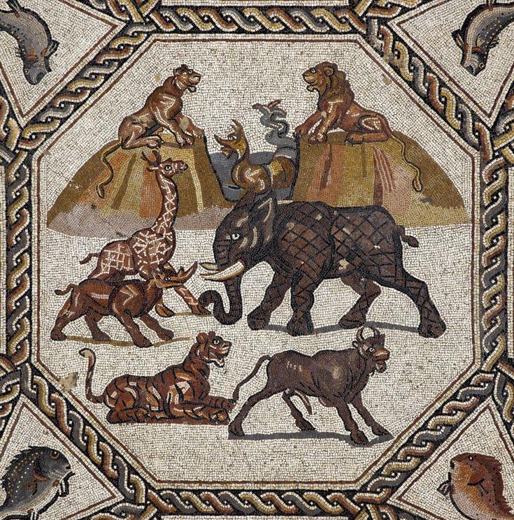 Particolare del Mosaico di Lod